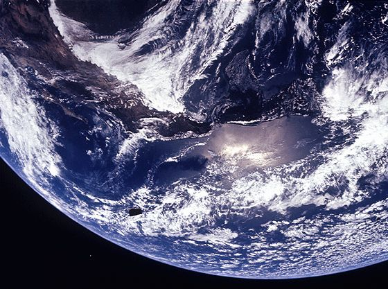 Earth, seen from space